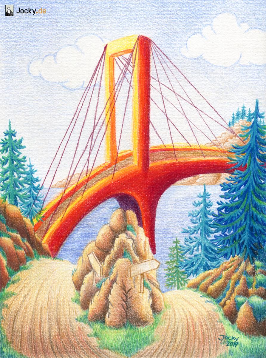 Brücke und der andere Weg