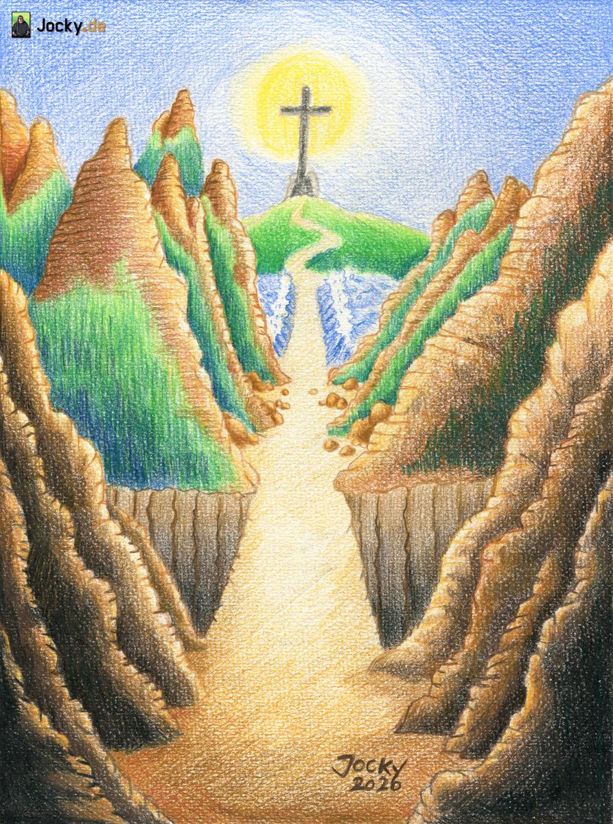 Der Weg zu Jesus ist frei