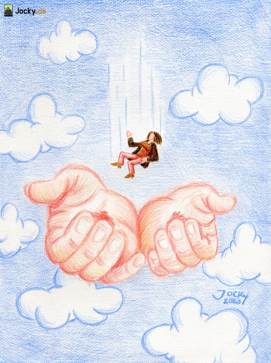 Fallen in die Hände Gottes