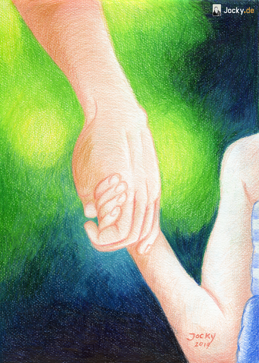 Getragen von der Hand des Vaters // Carried safely by the hand of the Father