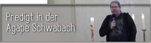 Predigt Schwabach
