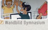 Wandbild Gymnasium Naila