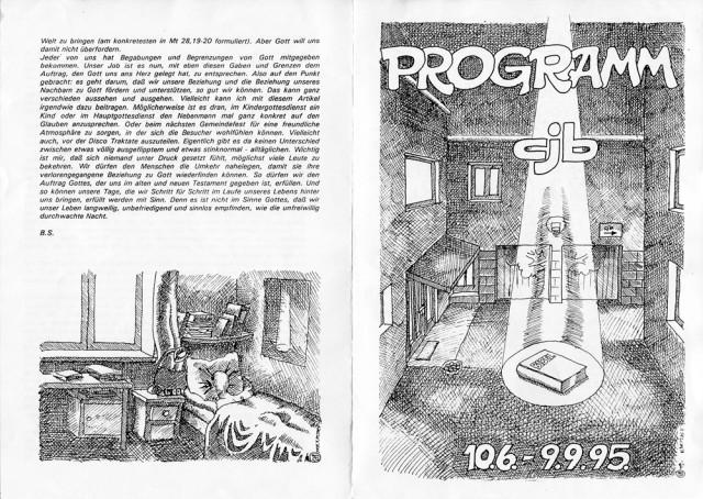cjb Naila - Programm (Sommer 95) 01