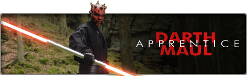 Darth Maul Aprrentice