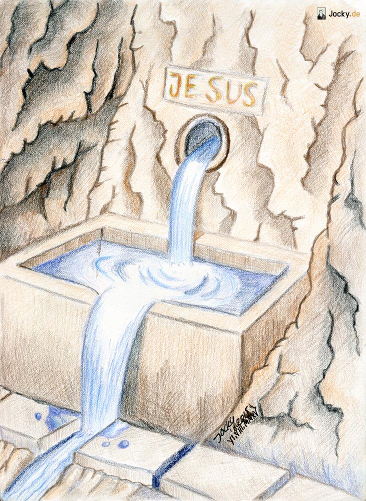 Lebendiges Wasser überall