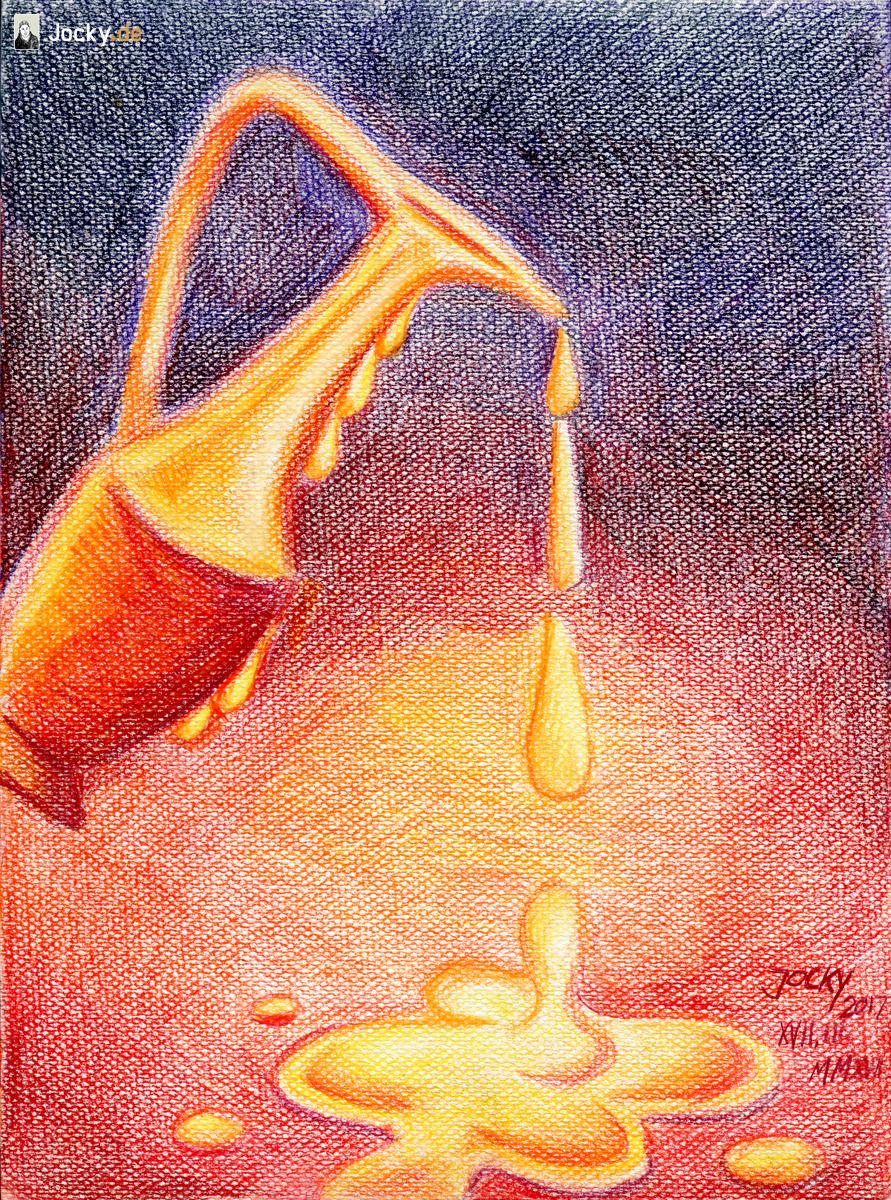 Das Öl Seiner Salbung und Gegenwart // The oil of his anointing and presence
